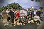 Momento shot with Supremacy Car & Motorcycle Club, Slammed Society Car & Truck Club of Kahalui, Maui, and Renditions Car & Truck Club of Lahaina, Maui @ the 2014 Art of War Car Show, Kihei, Maui on Saturday, July 5th, 2014