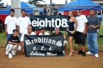 Momento shot with Renditions Car & Truck Club next to our banner during the 2nd Annual Hawaiian Isle Autofest