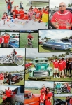 """Photo of a photo with Supremacy Car & Motorcycle club featured in Lowrider Magazine's """"Lowrider Car Club Profile"""" February 2014 Issue"""